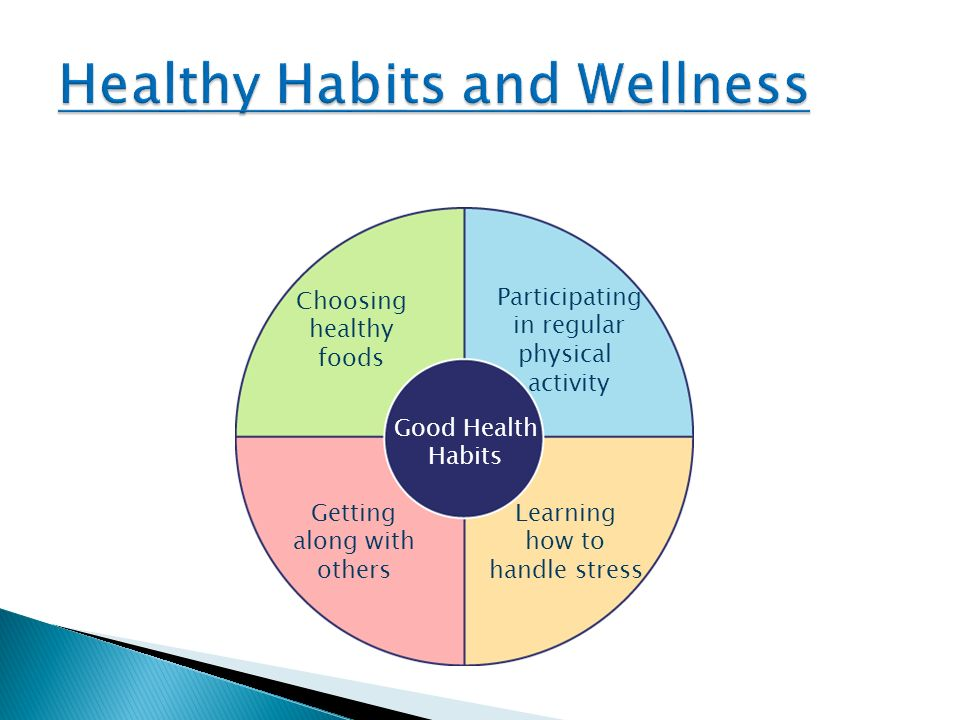Healthy Habits and Wellness