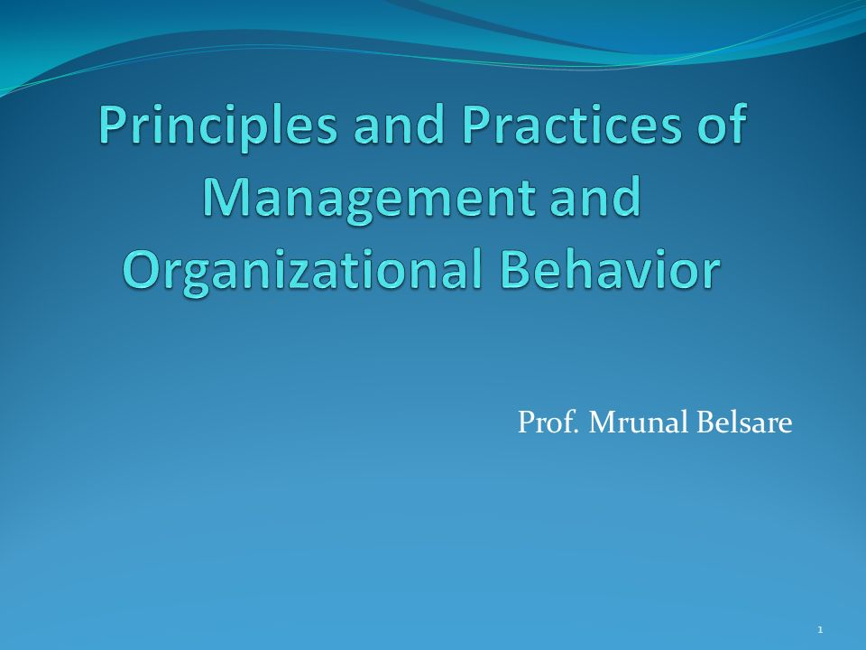 What Is the Importance of Studying Management Theories & Practice?