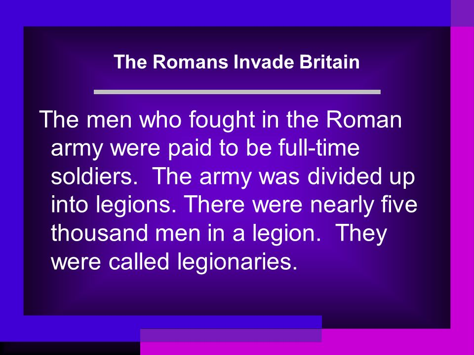 The Romans Invade Britain