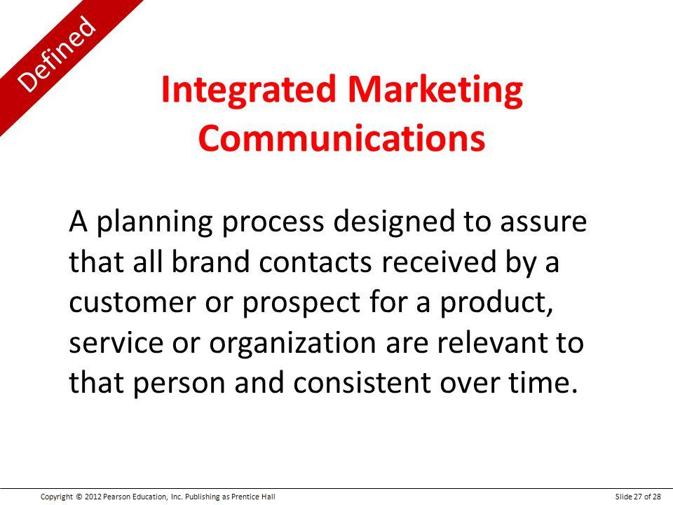 Beaches] Integrated marketing communication planning process pdf