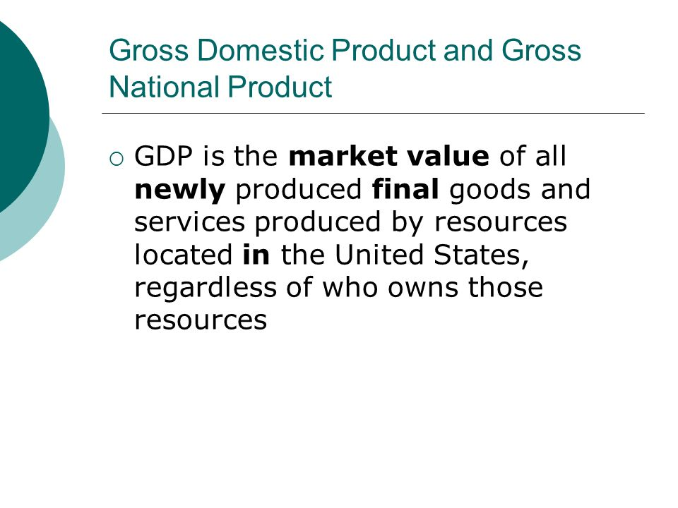 gross national product and gross domestic Real gross domestic product (gdp) increased in 312 out of 383 metropolitan areas in 2017 the percent change in real gdp by metropolitan area ranged from 121 percent in odessa, tx to -78 percent in enid, ok.