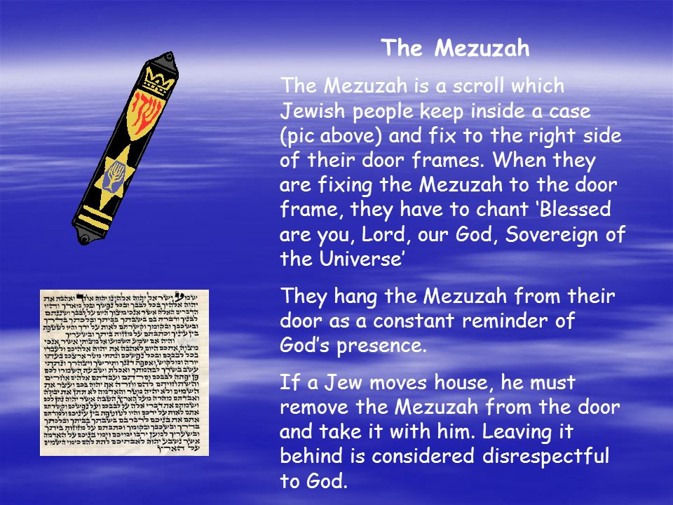 The Mezuzah