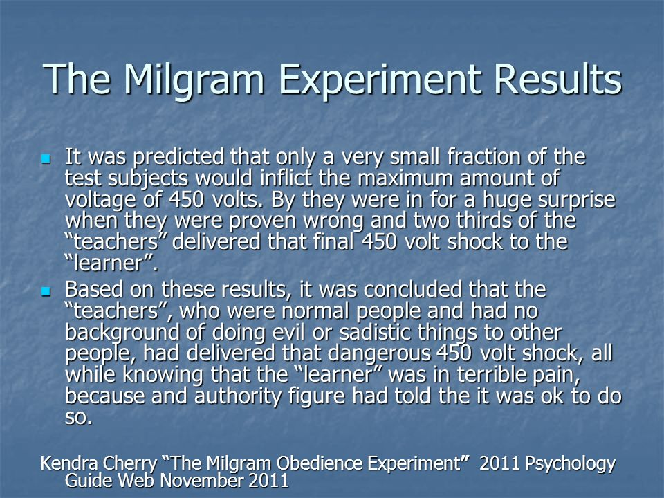 milgram psychology 12 marks Blass and schmitt (2001) showed a lm of milgram's study to students and asked [12 marks as, 16 marks al] check it 'if yer name's not on the.