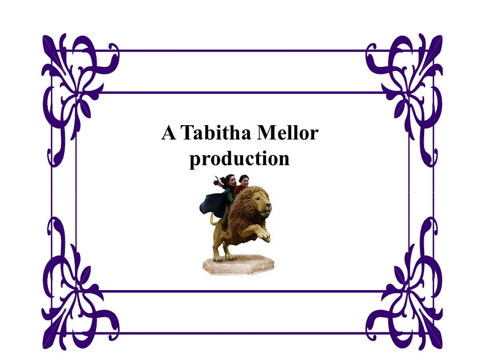 A Tabitha Mellor production