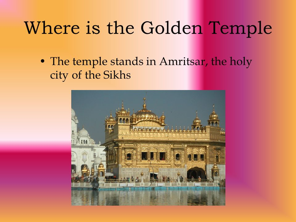 Where is the Golden Temple