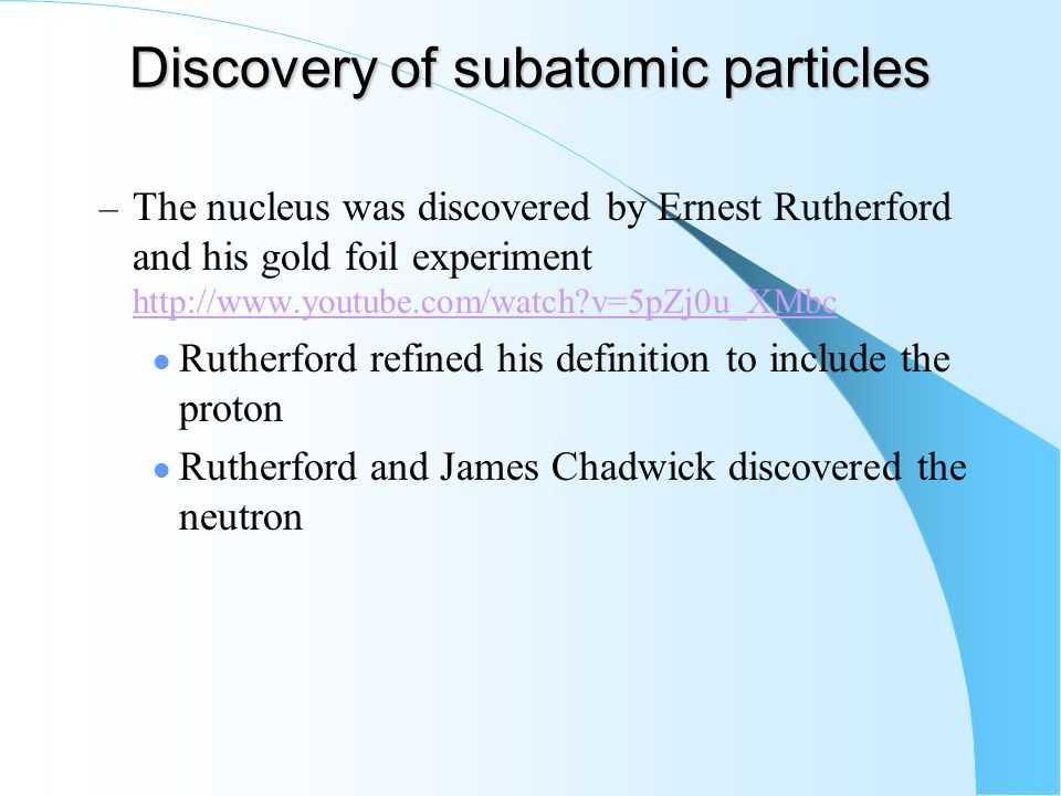 subatomic particles means