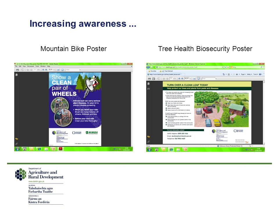 Tree Health Biosecurity Poster