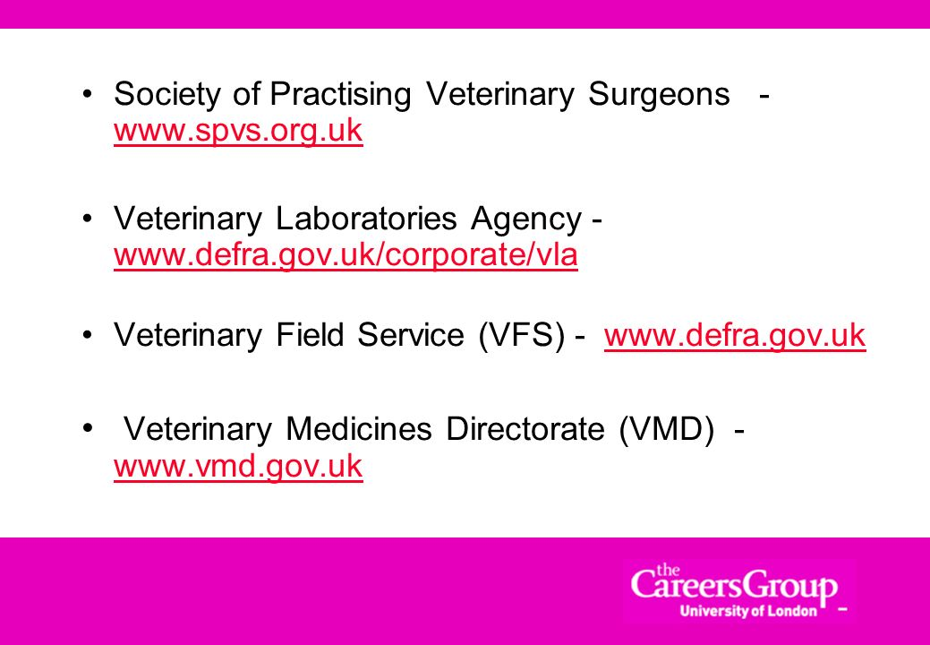 Veterinary Medicines Directorate (VMD) - www.vmd.gov.uk