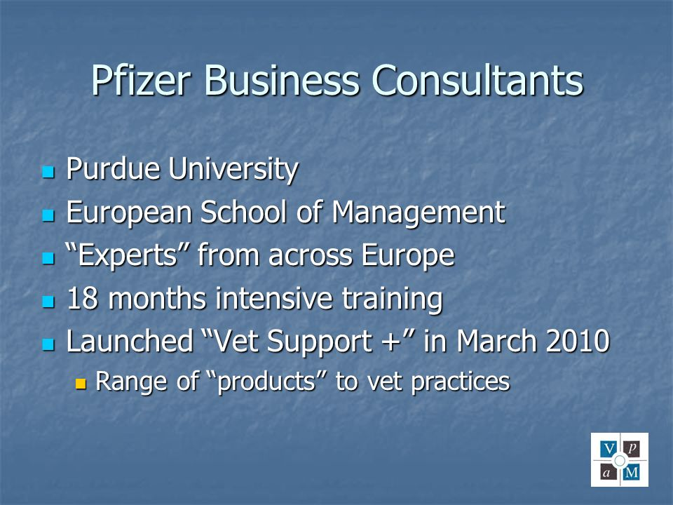 Pfizer Business Consultants