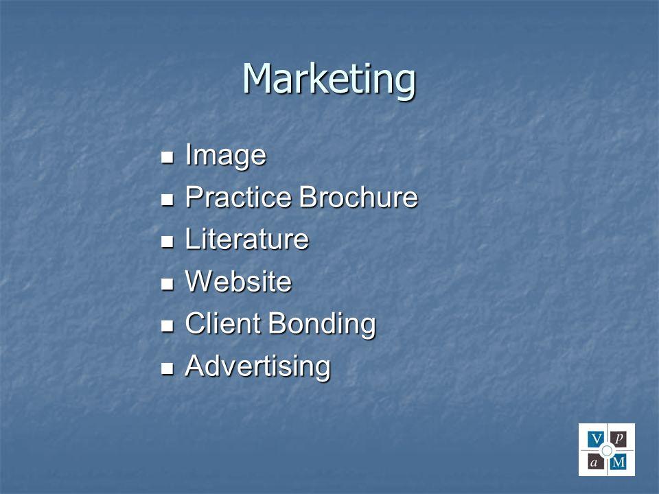 Marketing Image Practice Brochure Literature Website Client Bonding