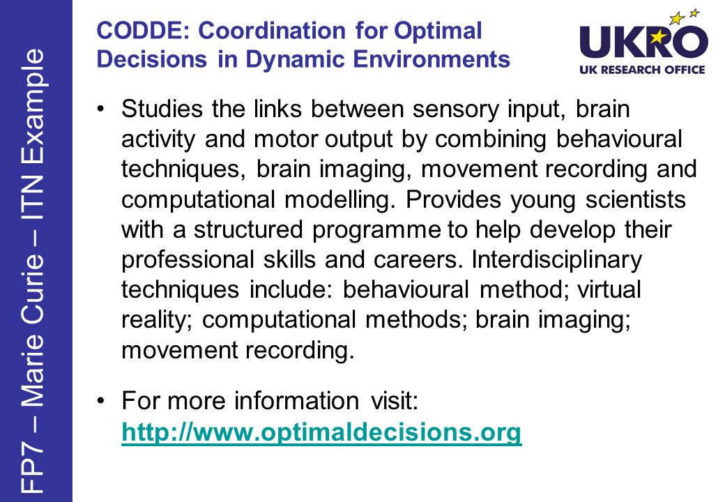 CODDE: Coordination for Optimal Decisions in Dynamic Environments
