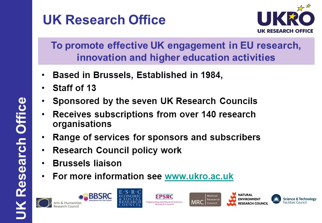 UK Research Office UK Research Office
