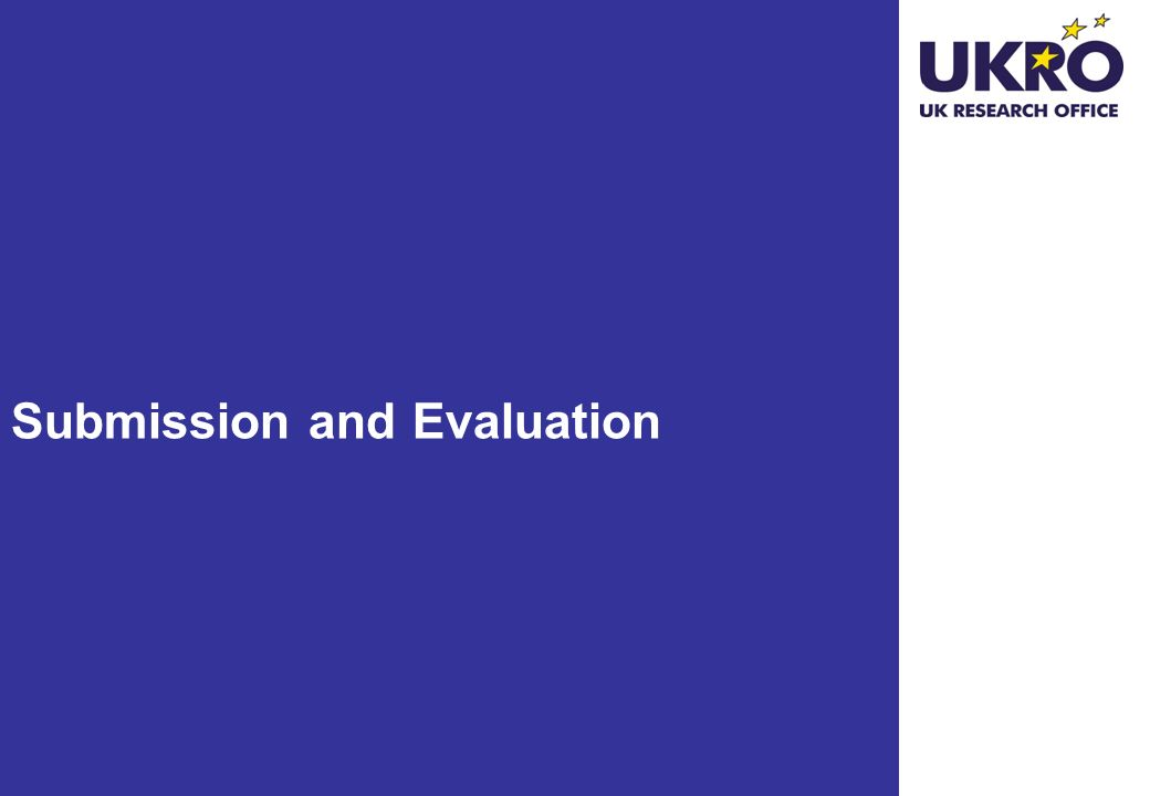 Submission and Evaluation