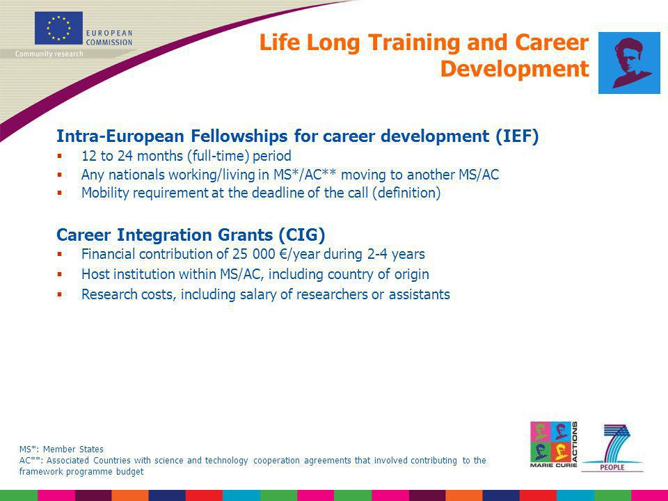 Life Long Training and Career Development