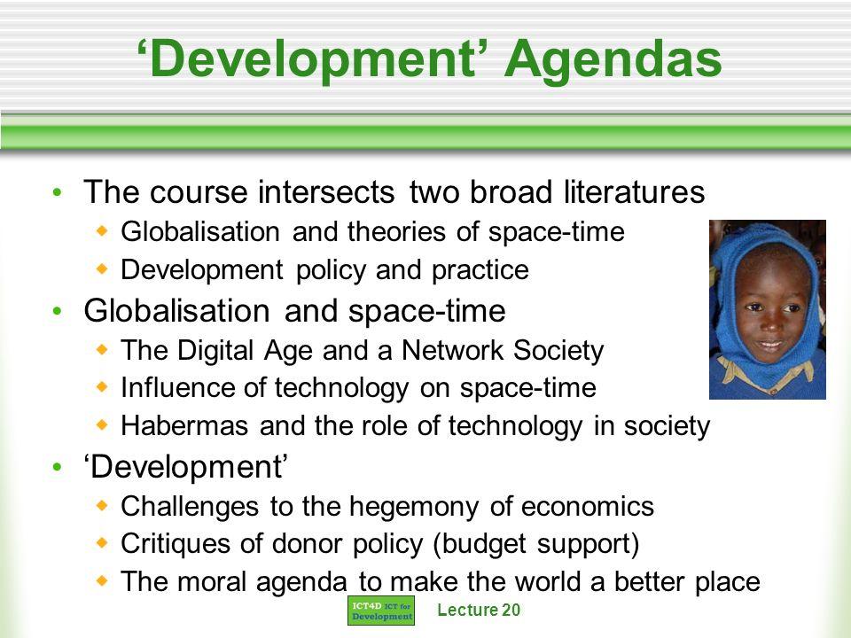 'Development' Agendas