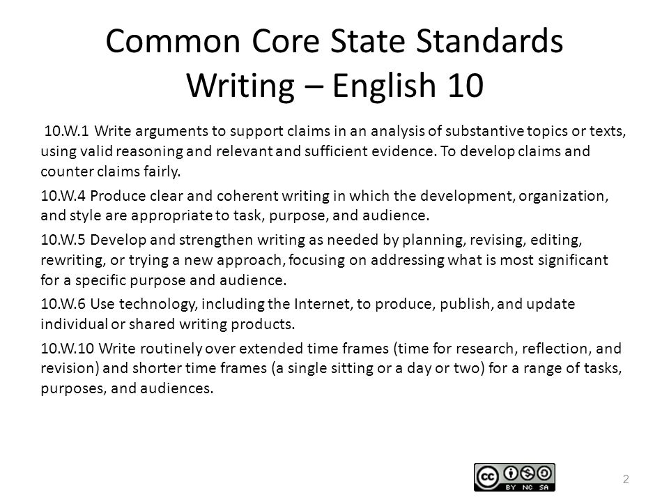 common core standards writing Common core standards reading common core standards students will independently read and write 48-sight words and all short vowel cvc words in their unique.