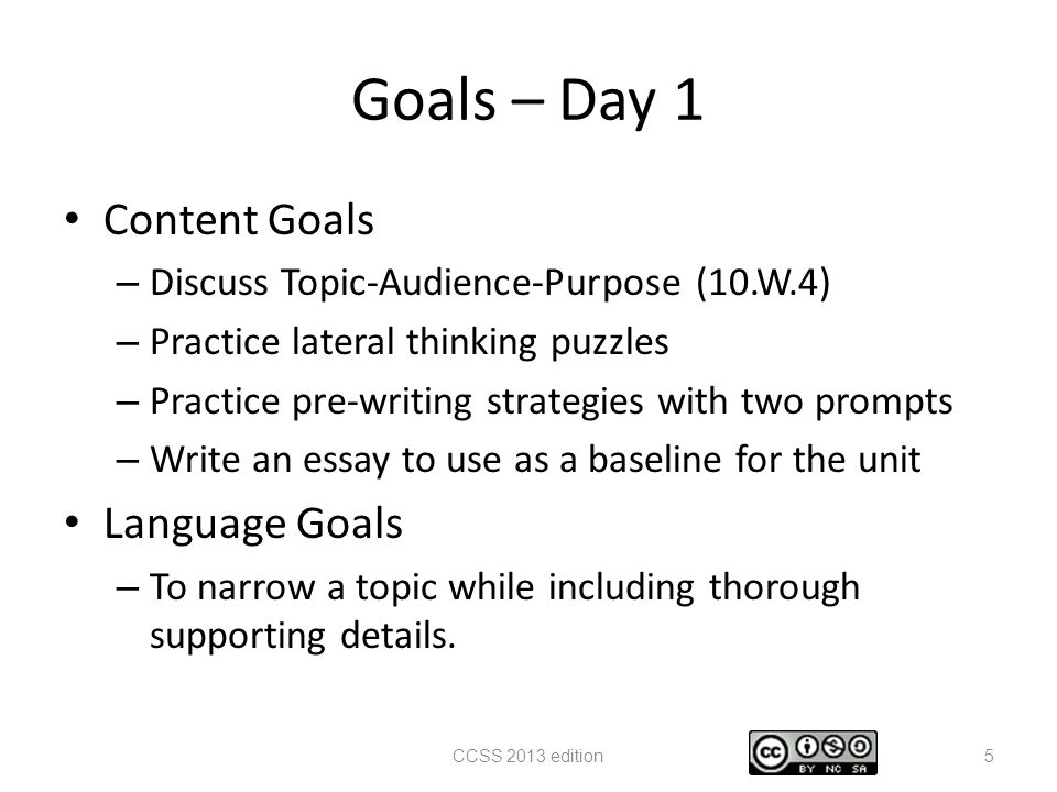 persuasive writing unit ~ essays in days ppt  goals day 1 content goals language goals