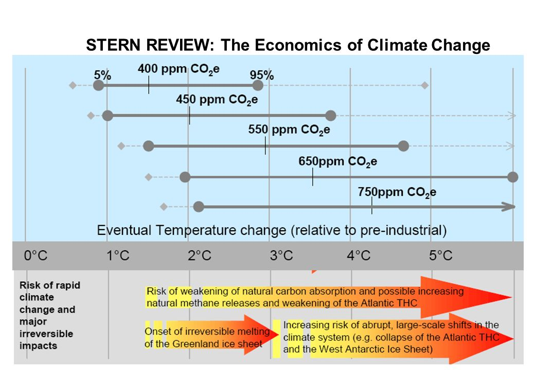 STERN REVIEW: The Economics of Climate Change