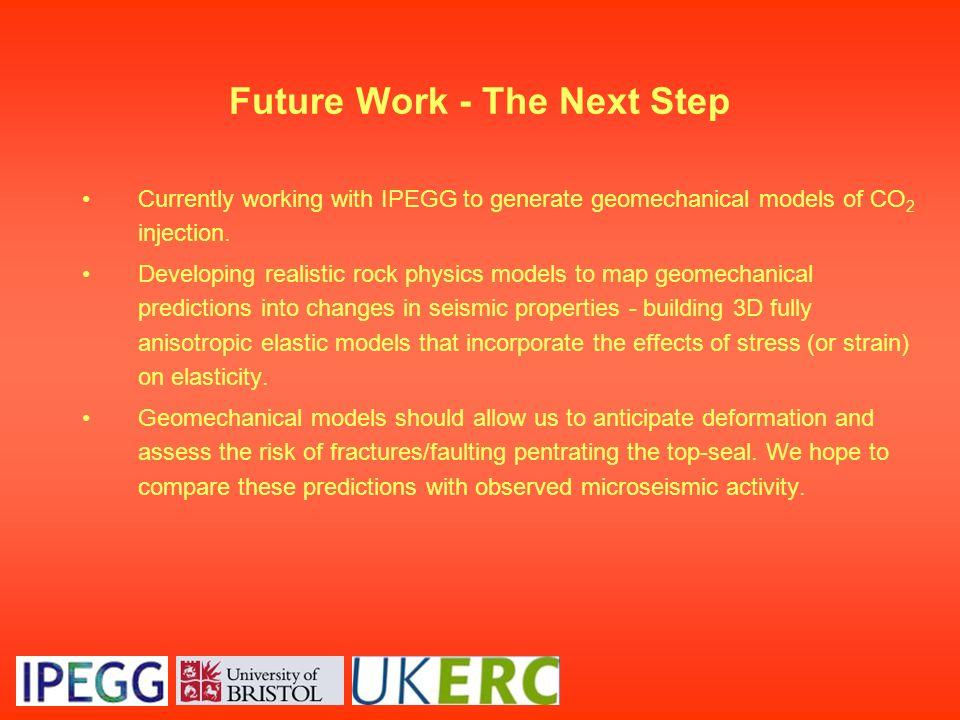 Future Work - The Next Step