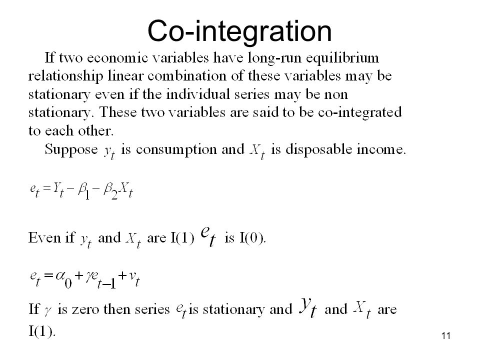 Co-integration