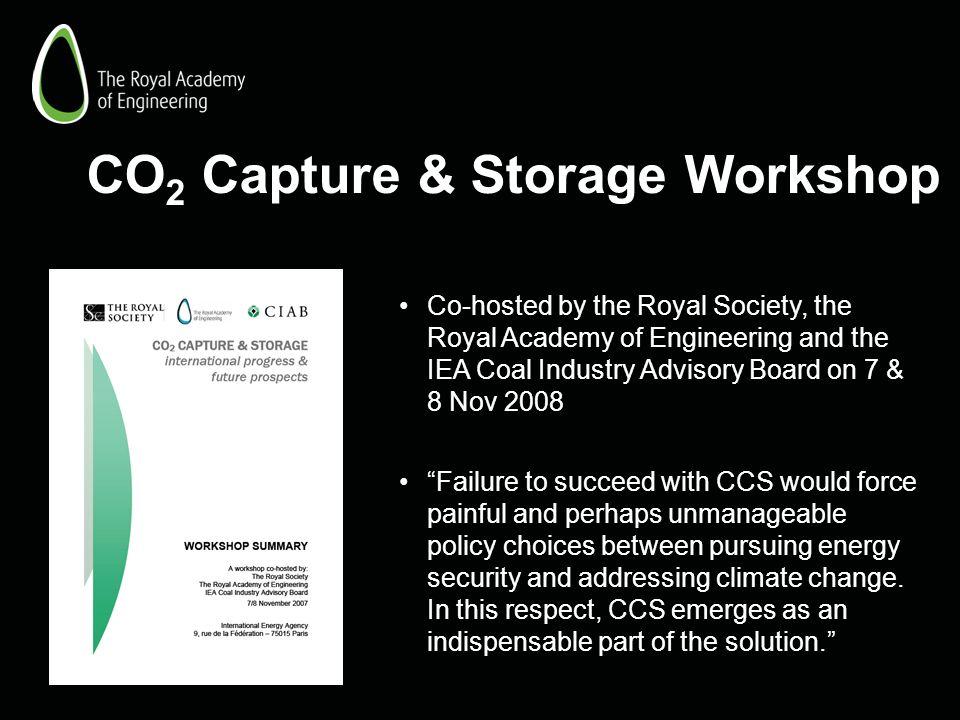 CO2 Capture & Storage Workshop