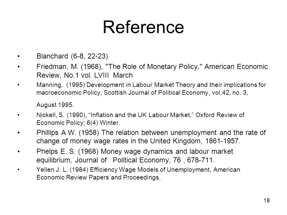 Reference Blanchard (6-8, 22-23)