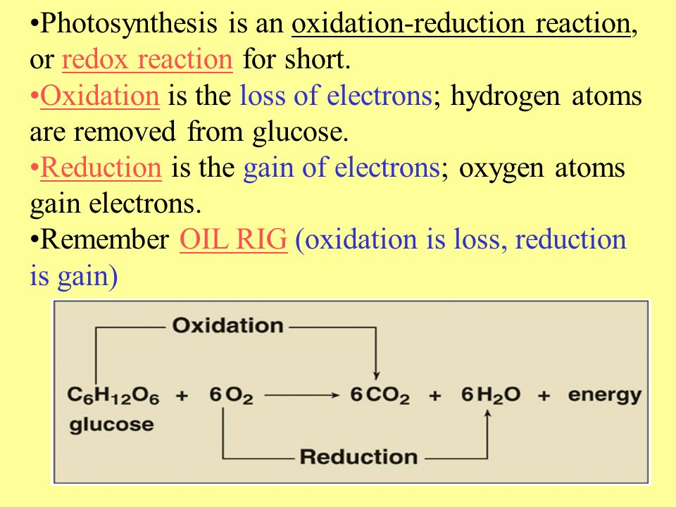 change in electrons during oxidation and reduction The earliest view of oxidation and reduction is that of adding oxygen to form an  oxide  is easier to see when you describe oxidation as the losing of electrons.