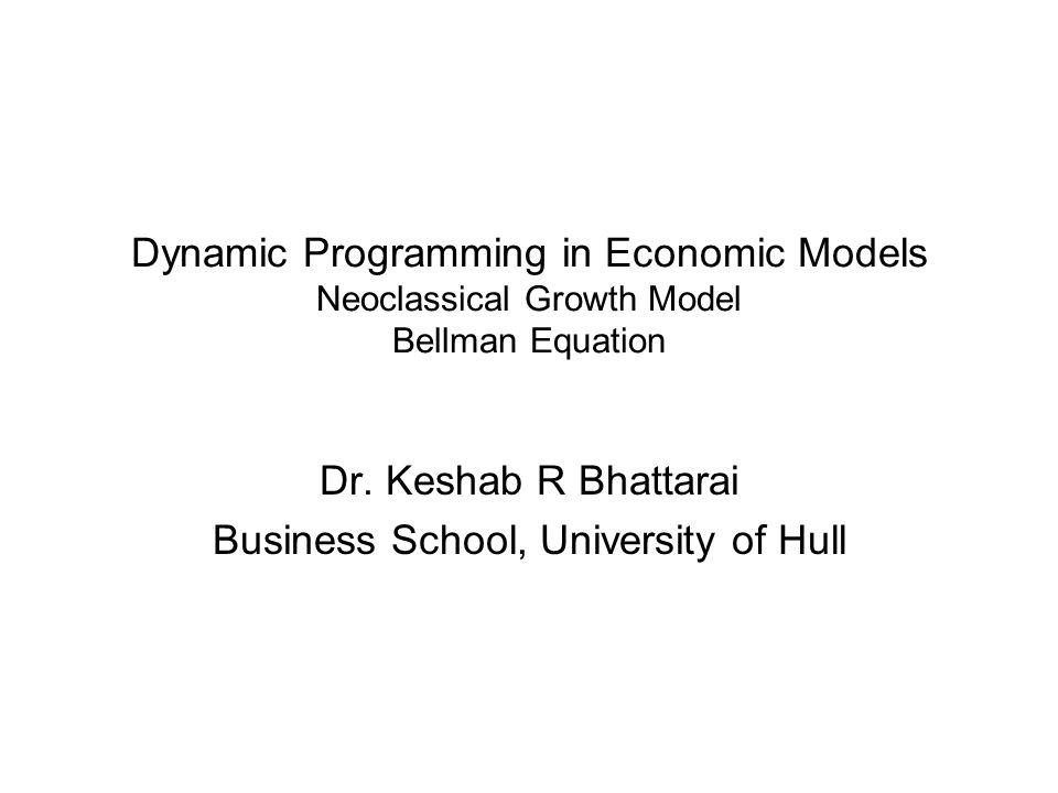 Dr. Keshab R Bhattarai Business School, University of Hull