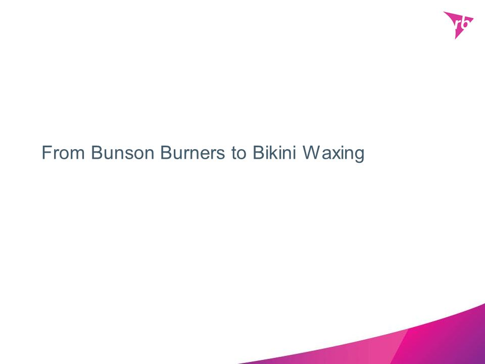 From Bunson Burners to Bikini Waxing