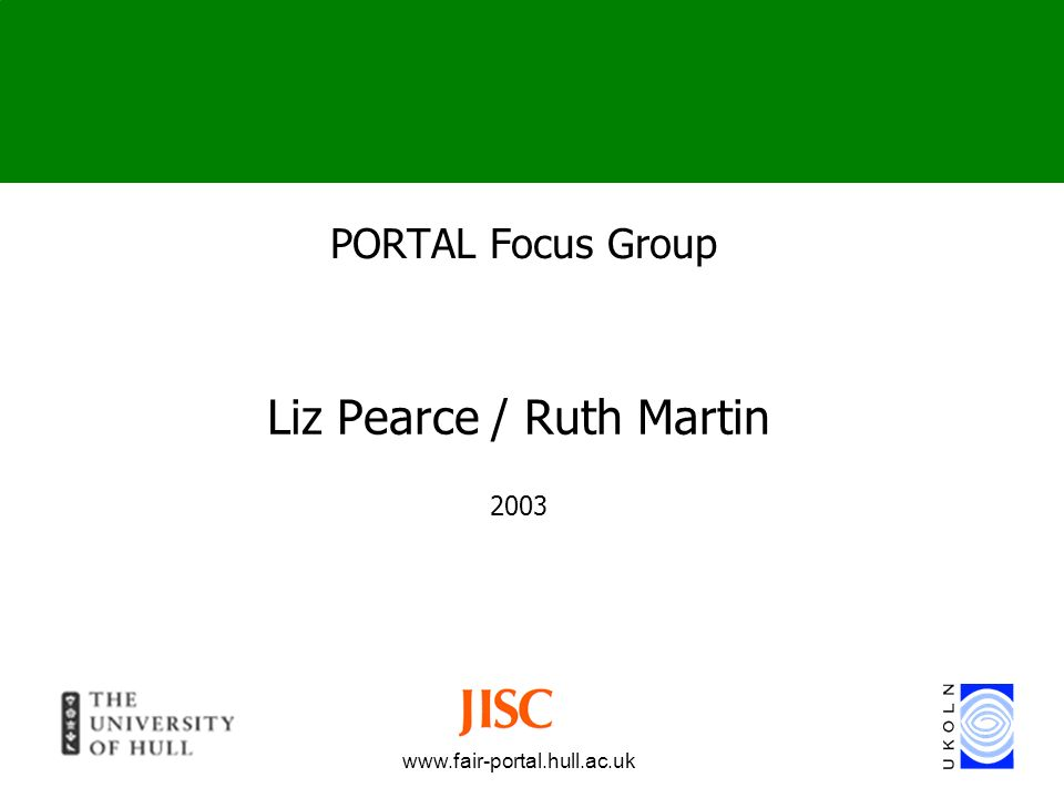 Liz Pearce / Ruth Martin 2003