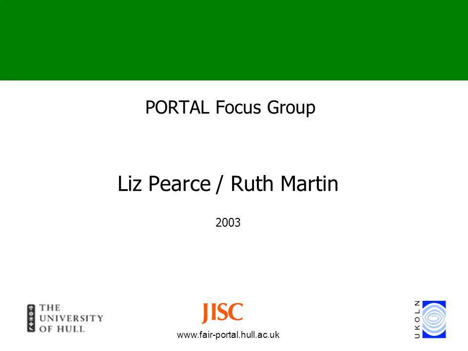 Liz Pearce / Ruth Martin 2003