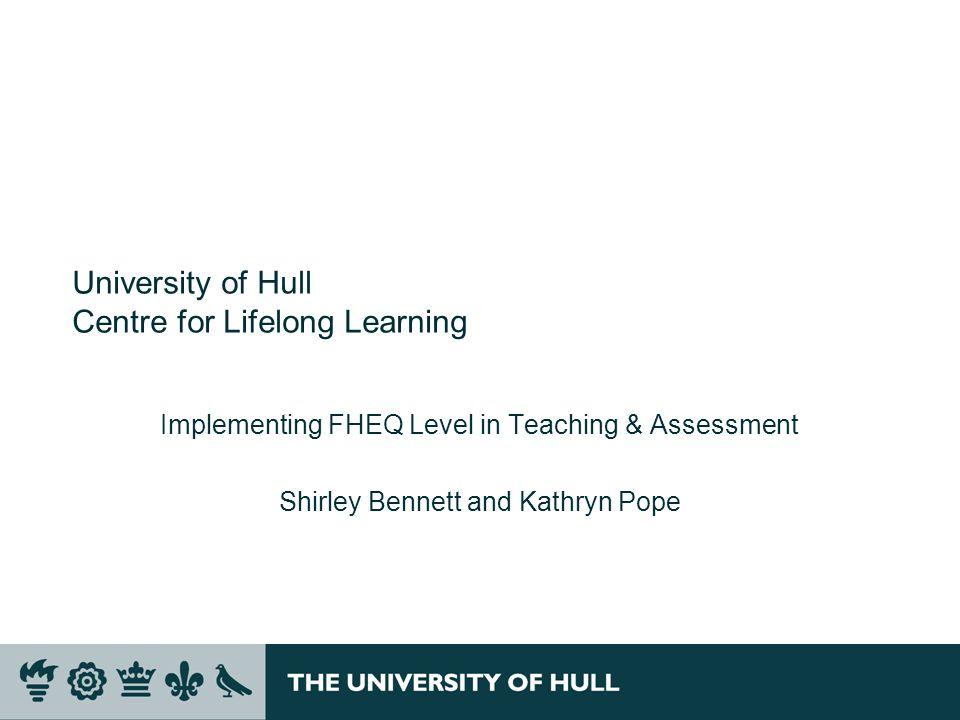 University of Hull Centre for Lifelong Learning