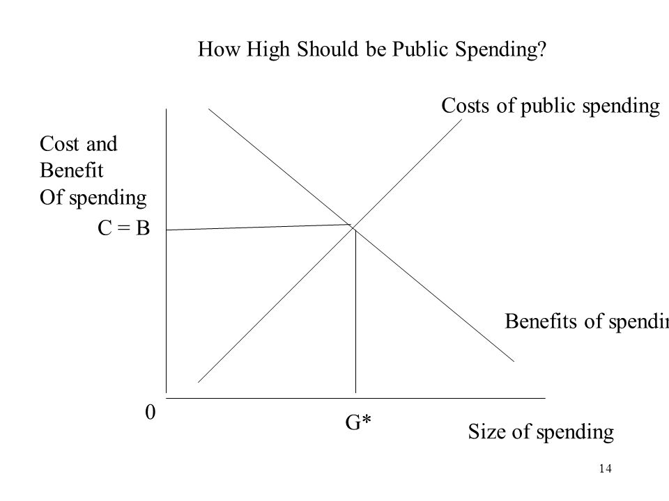 How High Should be Public Spending
