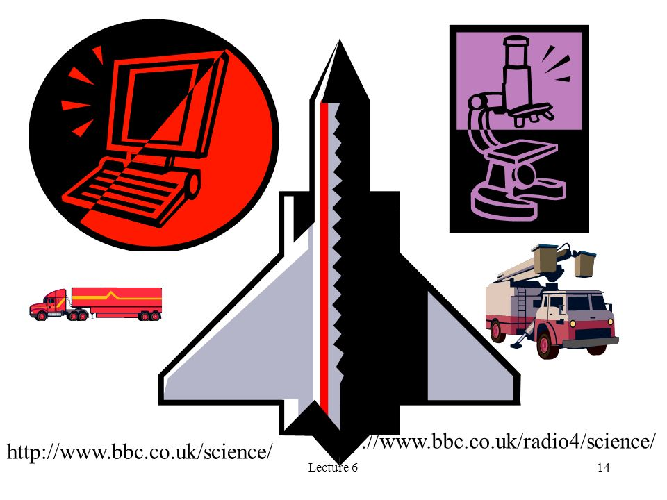 http://www.bbc.co.uk/radio4/science/ http://www.bbc.co.uk/science/