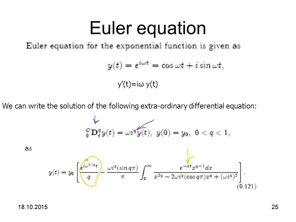 The Eulers Formula  Essay