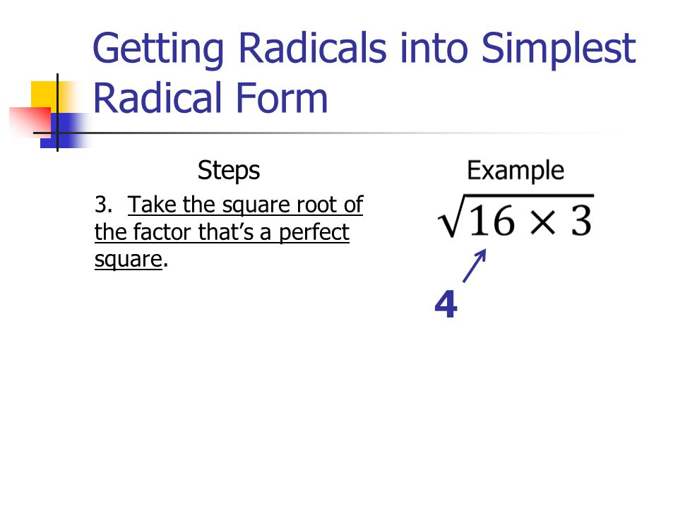 Radicals Review. - ppt video online download