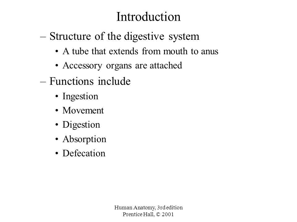 Digestive System Of A Frog Prentice Hall Human Anatomy, 3rd edi...