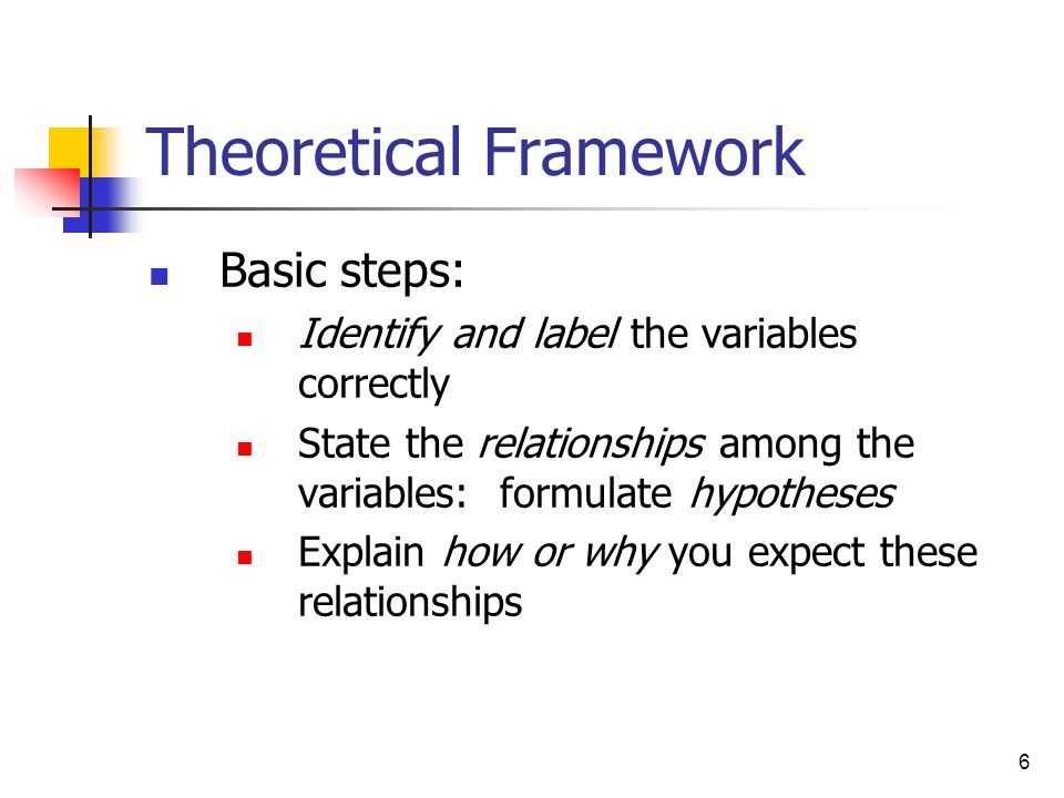 What Is Theoretical Framework?
