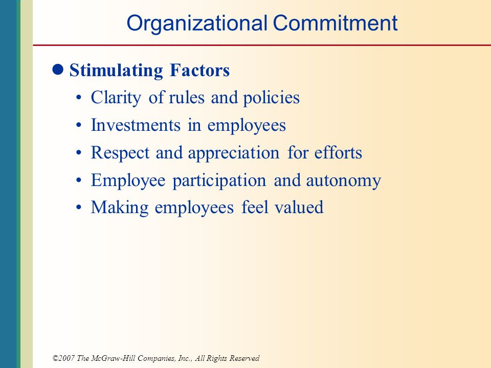 employee commitment to an organisation Employee engagement and employee-organizational commitments are critical   engagements at work, employee and organizational commitment have.