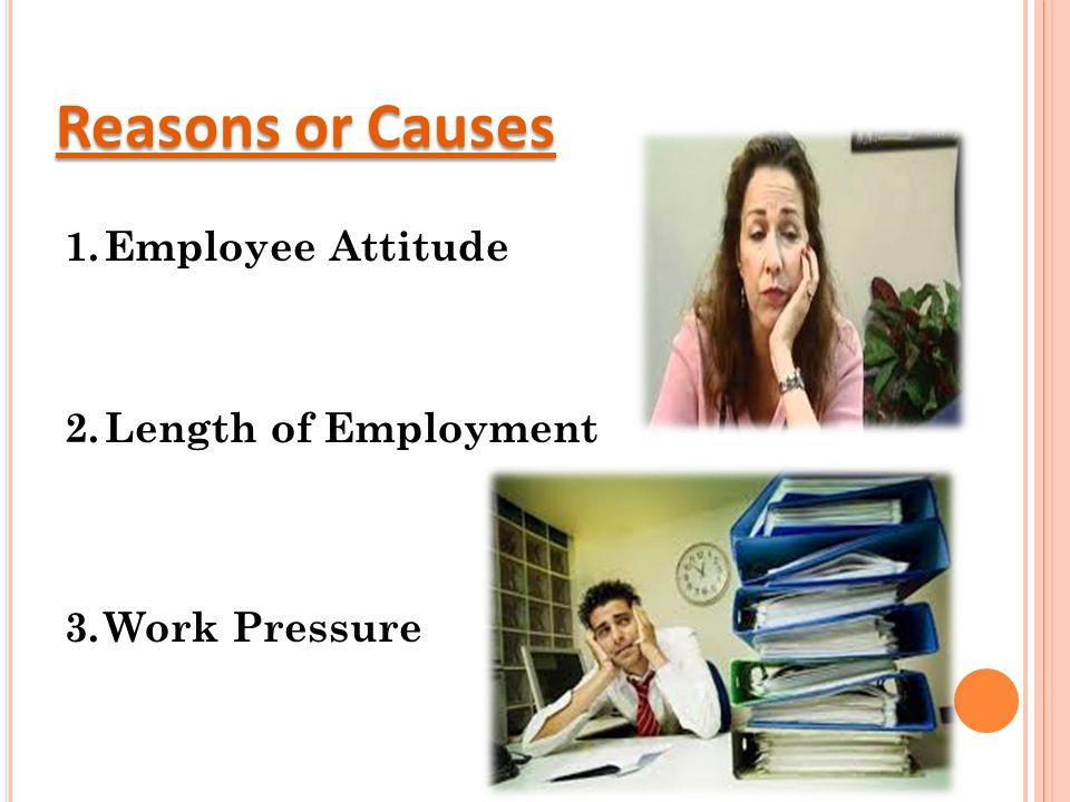 Absenteeism and employee turnover