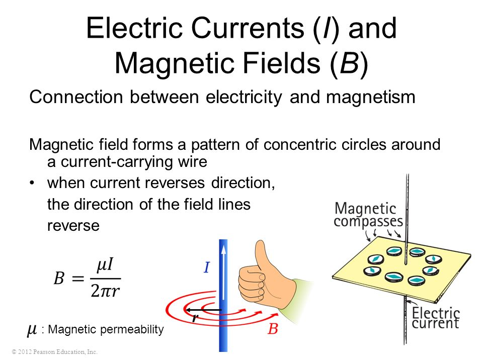 An analysis of the electromagnetism and the electric current ...