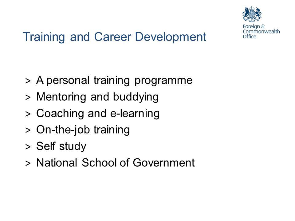 Training and Career Development