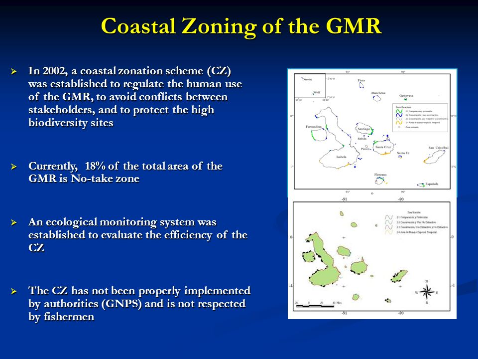 Coastal Zoning of the GMR