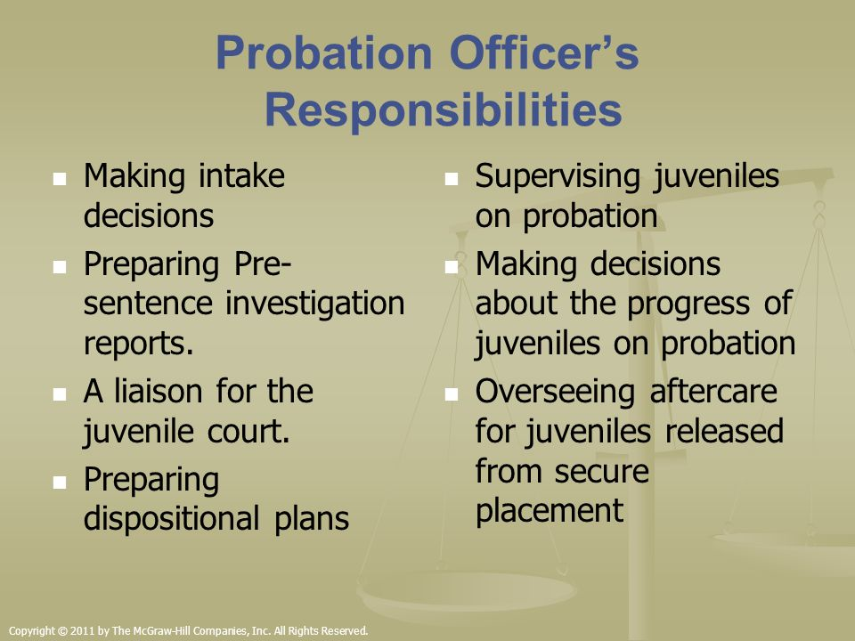 Community Based Corrections For Juveniles Ppt Video