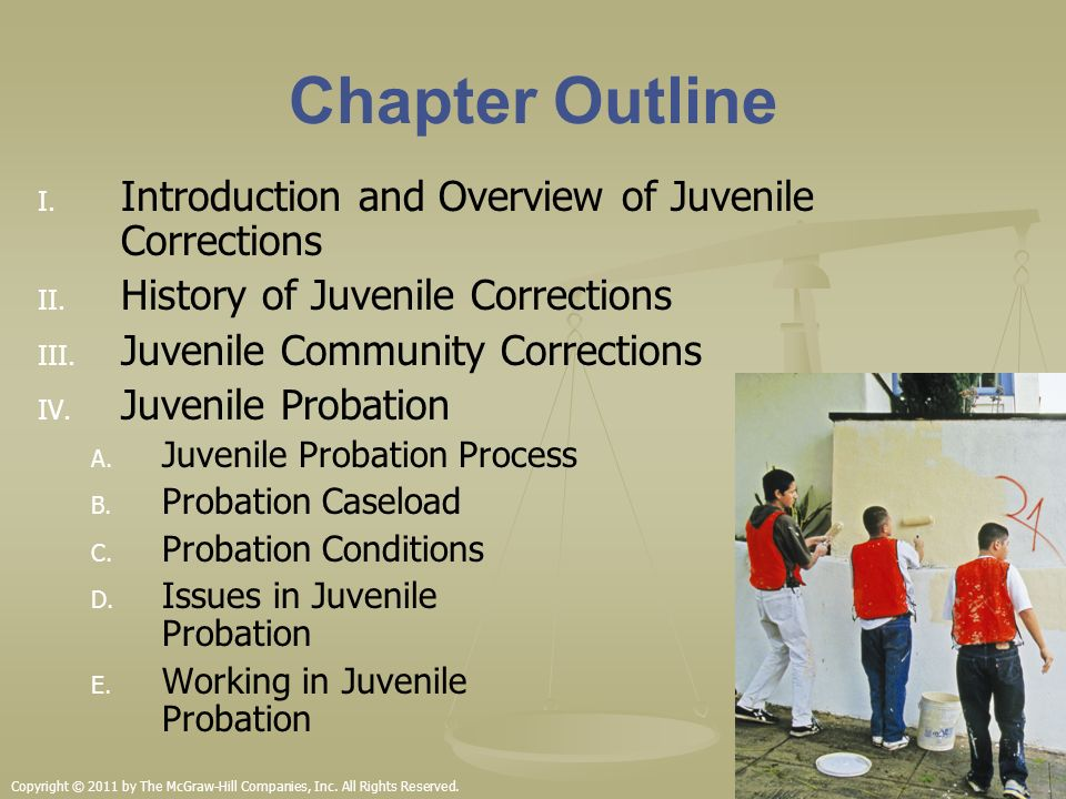 juvenile probation and community based corrections essay A new perspective on evidence-based practice mark w lipsey • james  darin  carver, juvenile justice programming consultant, meta llc  and better  connecting youth to family, school, community,  the authors of this paper  suggest that we can do better  age of juvenile court jurisdiction from 16 to 18  by 2010.