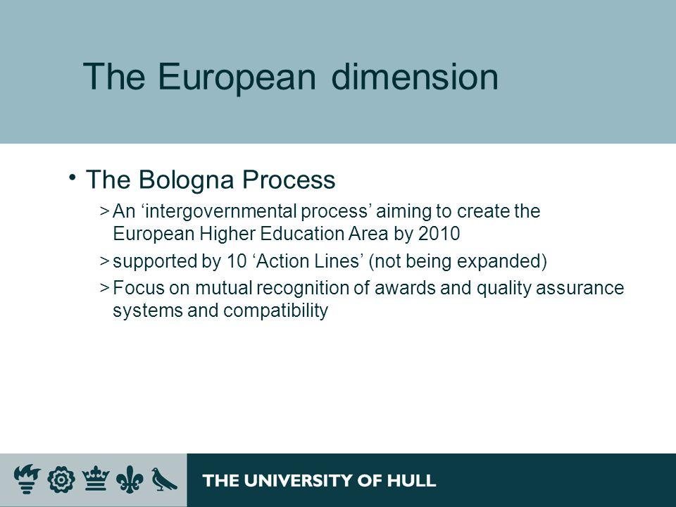 The European dimension