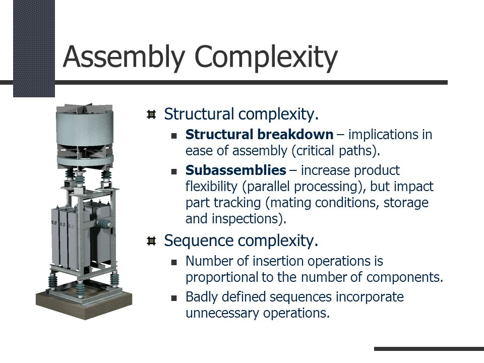 Assembly Complexity Structural complexity. Sequence complexity.
