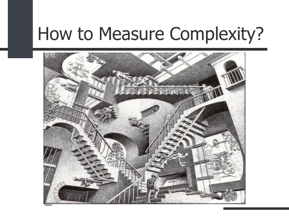 How to Measure Complexity