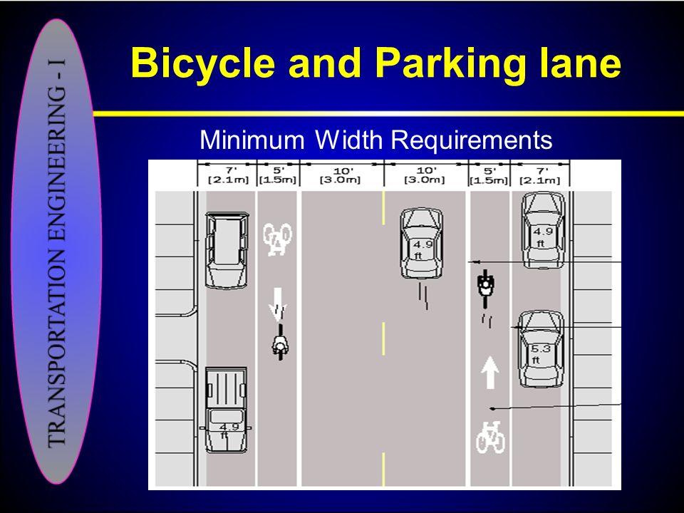 Bicycle and Parking lane