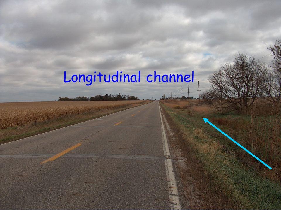 Longitudinal channel